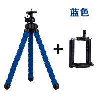 桌面通用简易折叠三脚架夹子头底座撑直播配件照相机