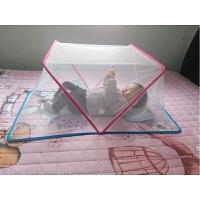 婴儿蚊帐罩蒙古包宝宝儿童蚊帐婴儿床蚊帐加密无底旋开折叠0-4岁
