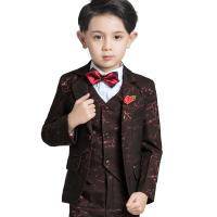 男花童礼服套装童装西装儿童中大童西服男童钢琴演出服新款春