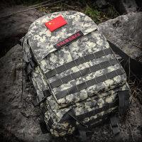 户外军迷用品单兵战术背包迷彩双肩包3D攻击包45L背囊