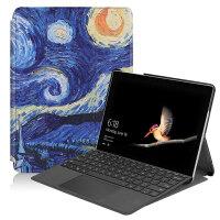 微软新款Surface Go保护套10.1英寸平板全包皮套键盘套壳 彩绘款-星空 送钢化膜