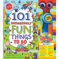 101 Outrageously Fun Things to Do 英文原版 手工玩具书:101个趣味游戏