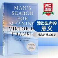 活出生命的意义 英文原版 Man's Search for Meaning 追寻生命的意义 新版 维克多 弗兰克尔 英