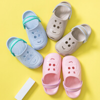 宝宝洞洞鞋夏季男童女童小孩公主1-3岁婴幼儿2可爱防滑儿童凉拖鞋