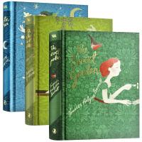 企鹅经典V&A收藏系列3册套装英文原版 The Secret Garden Peter Pan 秘密花园彼得潘柳林风声