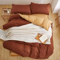 纯色六件套学生宿舍床单被罩四件套寝室0.9米上下铺床床品三件套