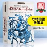 正版现货 坎特伯雷故事集 英文原版 The Canterbury Tales 乔叟代表作 进口英语书 全英文版书籍