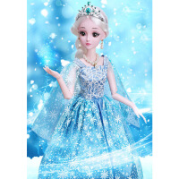 儿童玩具套装洋娃娃会说话的芭比娃娃智能对话会走路跳舞女孩公主