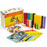 四喜人3D缤纷品果积木巴比伦方块拼插益智玩具立体创意拼装玩具