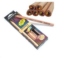 MARCO 马可6403彩色铅笔 创意 彩虹铅笔 日记制作 儿童涂鸦铅笔