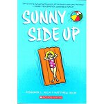 英文原版童书 Sunny Side Up 朝上/阳光的一面【图形小说】