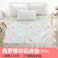 折叠榻榻米床垫1.8m床褥子1.5米单人双人垫被学生宿舍地铺睡垫1.2