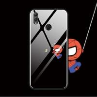 华为nova3i荣耀note10 8x max手机壳玻璃套软趣味搞怪蜘蛛侠萌