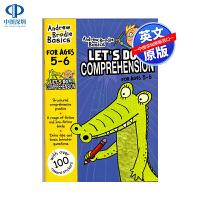 英文原版 Let's Do Comprehension 英国小学阅读理解练习册5-6岁 小学生英语教材