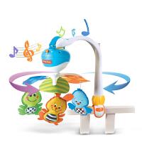 便携座椅推车宝宝床铃床头铃音乐旋转婴儿玩具0-6-12