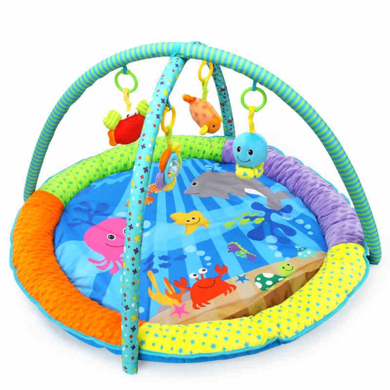 缤纷海洋游戏垫爬行垫 可拆卸健身架 婴儿玩具0-1岁 发货周期:一般在付款后2-90天左右发货,具体发货时间请以与客服协商的时间为准
