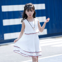 女童连衣裙夏装2018新款韩版儿童公主12洋气夏季十岁女孩雪纺裙子
