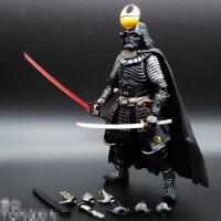 名将黑武士配光剑 星球大战7白兵 可动人偶手办模型玩具