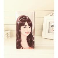 韩版卡通儿童钱包小香风娃娃彩印花女士钱夹可爱手机包 娃娃6