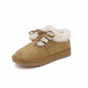 WARORWAR新品YM161-A-6冬季欧美平底舒适女士雪地靴