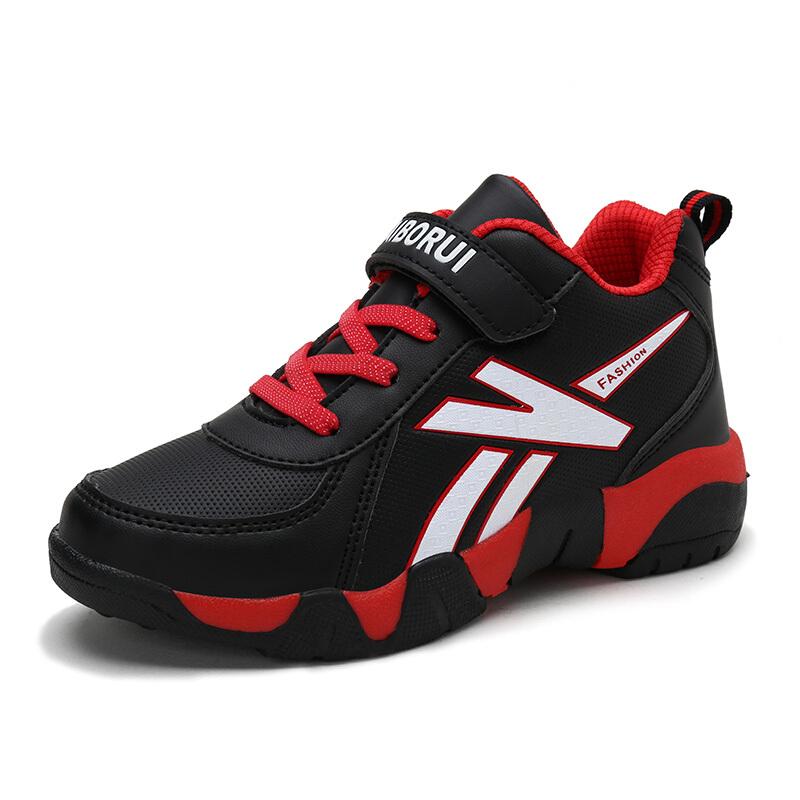 男童鞋秋款2018新款儿童篮球鞋秋季防滑男孩大童鞋青少年运动鞋  28-40