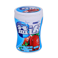 益达木糖醇无糖口香糖(清爽草莓味 40粒瓶装 56g)新老包装随机发货