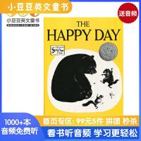 #英文绘本 原版进口 The Happy Day  快乐的 凯迪克银奖 平装 [4-8岁]