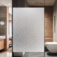 静电磨砂玻璃贴膜贴纸办公室浴室卫生间窗户窗花透光不透明防走光kn0