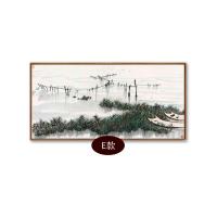 新中式水墨国画吴冠中双燕现代客厅装饰画卧室沙发背景挂画办公室