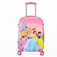 拉杆箱行李箱包小女孩公主卡通旅行箱索菲亚万向轮登机箱皮箱 其他尺寸