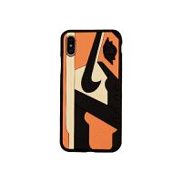 篮球乔丹AJ鞋底iPhoneX手机壳苹果7/8plus硅胶防滑手感软壳男 小7/8 【橙】1号鞋