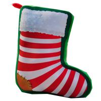 卡通圣诞老人抱枕靠垫麋鹿冬季办公室靠垫创意汽车抱枕圣诞礼物女 酒红色 null