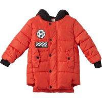 【2件2.5折叠券约:73.2,12日0点】美特斯邦威旗下moomoo童装男童中长款棉服新款冬季韩版洋气中大儿童外套