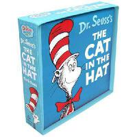 The Cat in the Hat Cloth Book 英文原版 戴帽子的猫布书