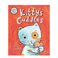 【预订】Kitty's Cuddles 猫咪的拥抱 精装英文原版儿童绘本 Jane Cabrera