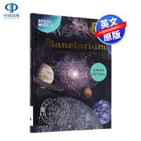 英文原版天文学 儿童版 Planetarium精装大开本 欢迎来到博物馆系列 儿童青少年课外阅读自然科普读物进口畅销书正