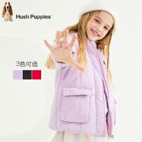 【2件5折:249元】暇步士童装冬季新款女童棉服时尚甜美保暖连帽棉服儿童棉服