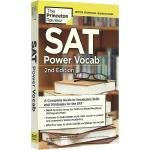 华研原版 普林斯顿SAT词汇 英文原版 英语单词书籍 SAT Power Vocab 正版进口书籍 全英文版书