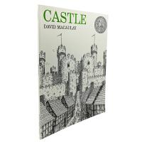 英文原版 Castle 城堡 [平装] [10-14岁]
