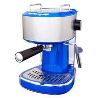 商用意式全半自动高压蒸汽式打奶泡红色咖啡机家用