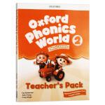 新版 牛津自然拼读教材教师书2 英文原版 Oxford Phonics World Level 2 Teacher's