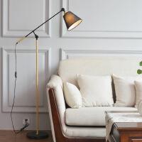 简约温馨创意落地灯北欧遥控客厅立式台灯led卧室个性书房落地灯