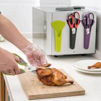 多功能不锈钢剪刀厨房鸡骨剪 家用葱花剪多用强力食物剪子厨房剪
