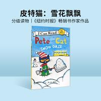 #英文原装进口童书Pete the Cat: Snow Daze 皮特猫:雪花飘飘 新品【4-8岁】