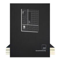 加厚A4康奈尔笔记本文具5R笔记法考研课堂记录本小方格本网格本子