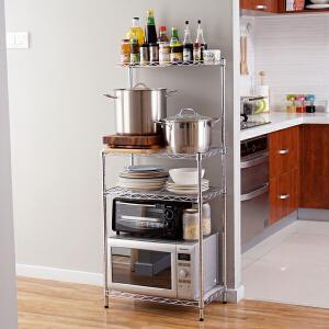 【清仓】ORZ 台湾制电镀竹节19管大多层架 厨房客厅多功能大号储物架分类置物架