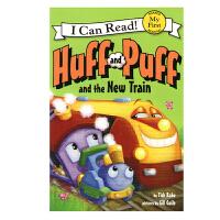 英文原版Huff and Puff and the New Train
