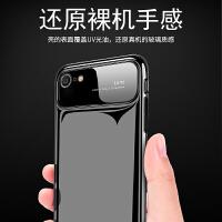 苹果6手机壳6splus潮男女款iPhone6plus新款玻璃6s全包磨砂套六6P