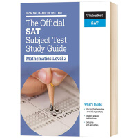 SAT官方科目学习指南 数学2 英文原版 The Official SAT Subject Test in Mathe
