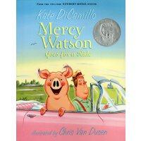 #英文原版 Mercy Watson Goes for a Ride 小猪梅西飞车